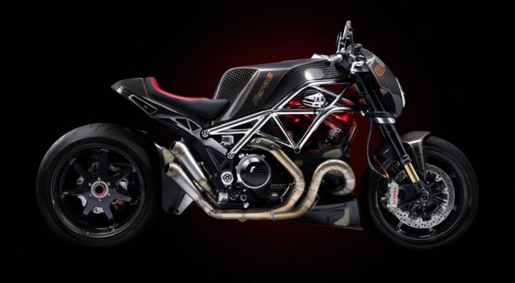 В Чехии представили уникальный мотоцикл