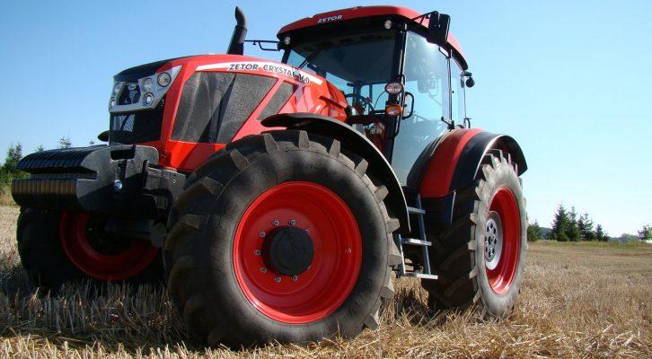 На заводе в России запустили производство суперсовременных тракторов Zetor