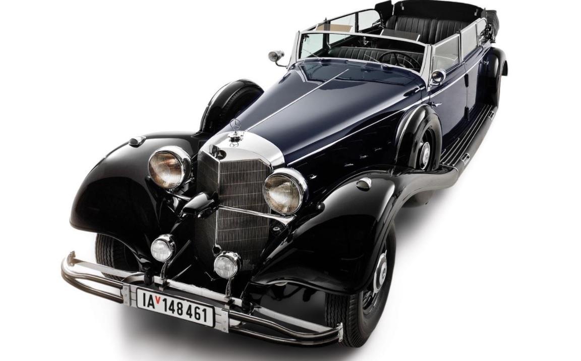 Парадное авто Гитлера уйдет с молотка